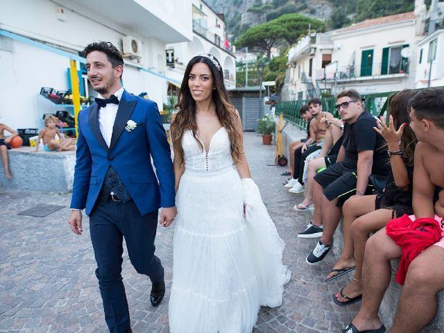 Il matrimonio di Francesco  e Cristiana  a Maiori, Salerno 2