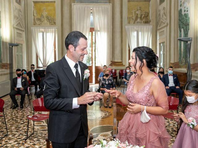 Il matrimonio di Devis e Francisca a Sommacampagna, Verona 34