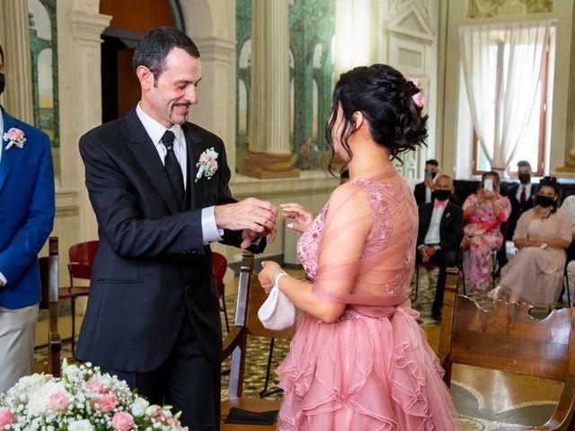 Il matrimonio di Devis e Francisca a Sommacampagna, Verona 37