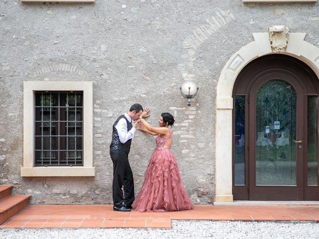 Il matrimonio di Devis e Francisca a Sommacampagna, Verona 97