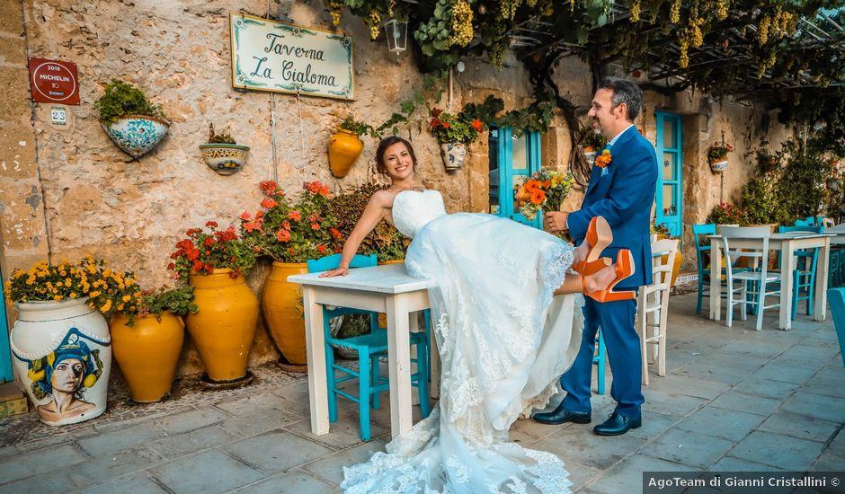 Il matrimonio di Lorenzo e Carlotta a Pachino, Siracusa