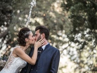 Le nozze di Vanessa e Massimiliano