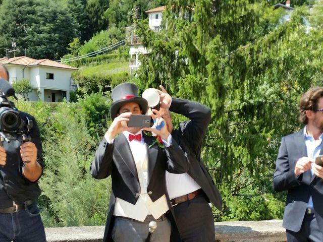 Il matrimonio di Michele Criscuolo e Silvia Benaglio a Calco, Lecco 74