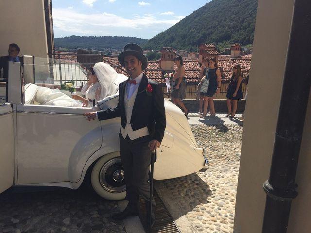 Il matrimonio di Michele Criscuolo e Silvia Benaglio a Calco, Lecco 81