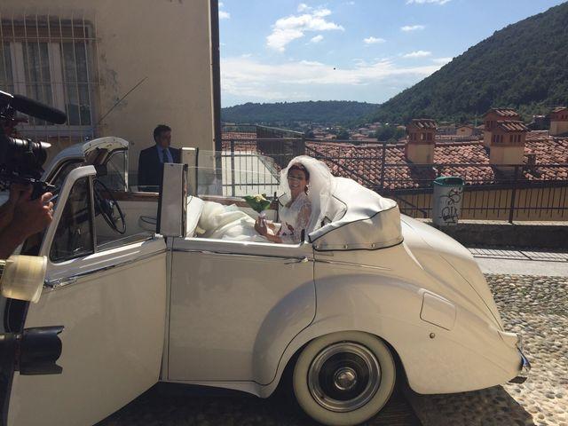 Il matrimonio di Michele Criscuolo e Silvia Benaglio a Calco, Lecco 82