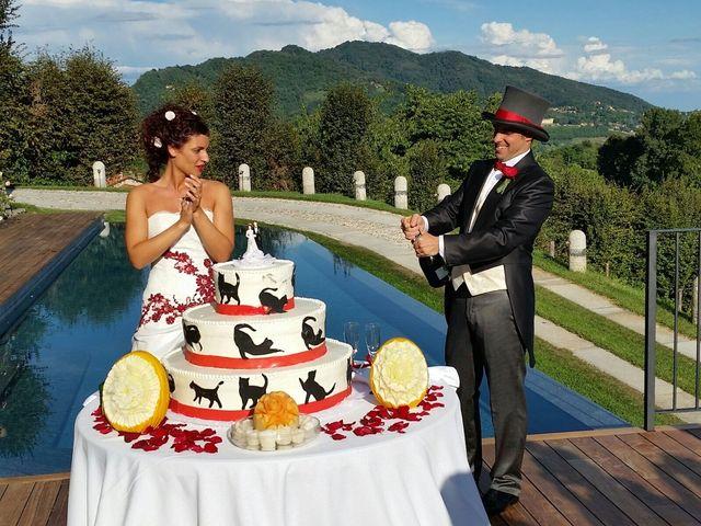 Il matrimonio di Michele Criscuolo e Silvia Benaglio a Calco, Lecco 200