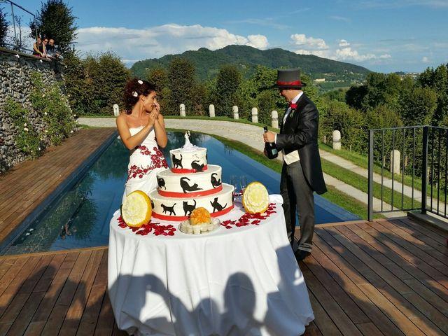 Il matrimonio di Michele Criscuolo e Silvia Benaglio a Calco, Lecco 201