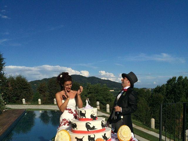 Il matrimonio di Michele Criscuolo e Silvia Benaglio a Calco, Lecco 202