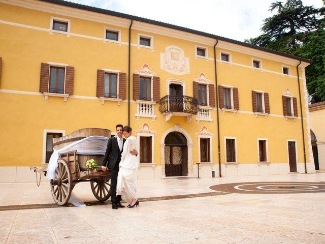 Il matrimonio di Marco e Elena a San Giovanni Ilarione, Verona 14