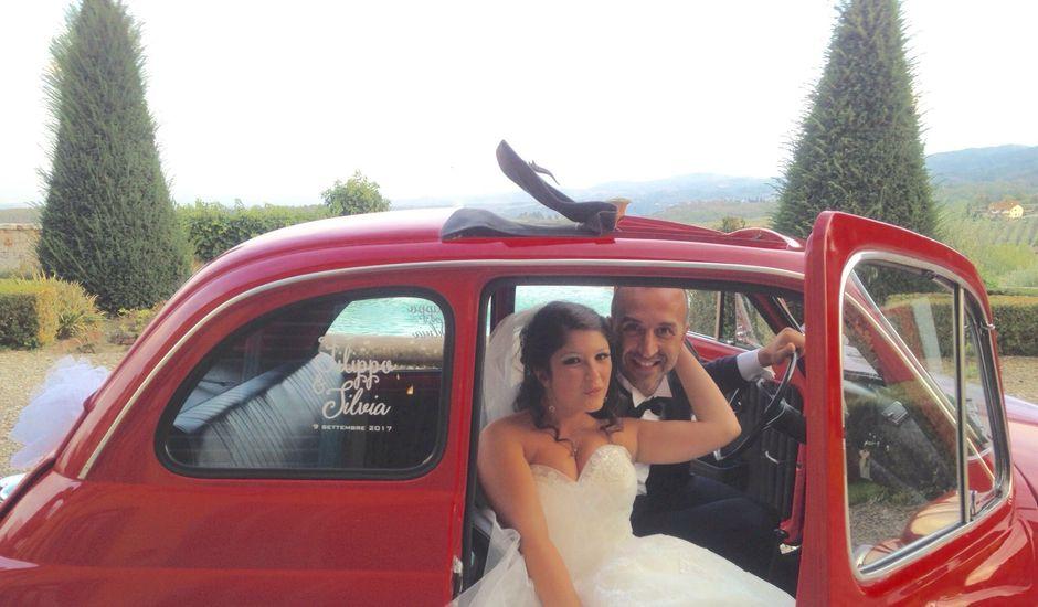 Il matrimonio di Filippo e Silvia a Figline Valdarno, Firenze
