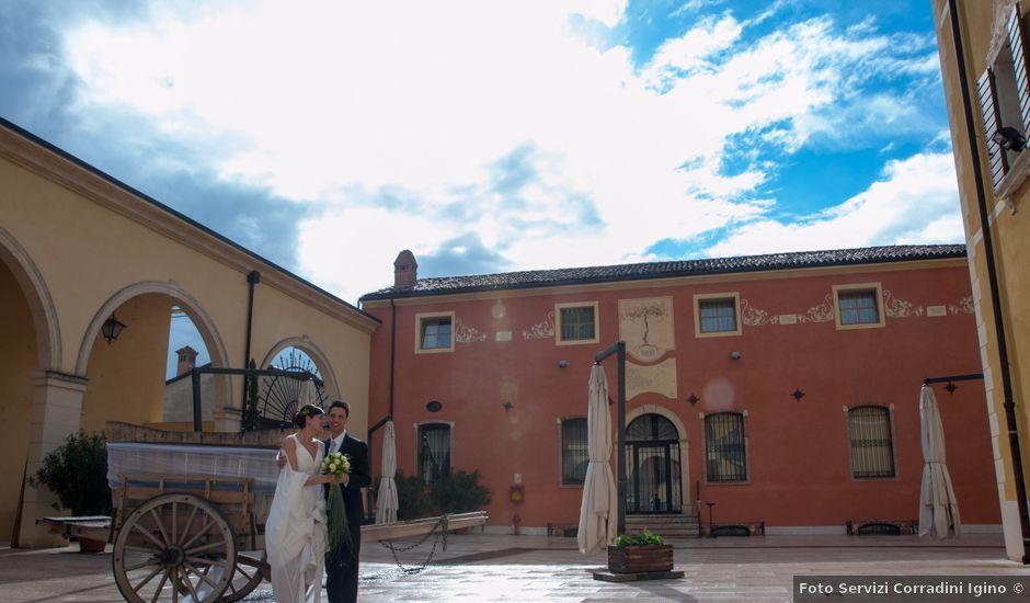 Il matrimonio di Marco e Elena a San Giovanni Ilarione, Verona