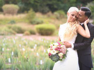Le nozze di Kim e Adriano