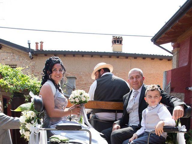 Il matrimonio di Giovanni e Paola a Corte Franca, Brescia 24
