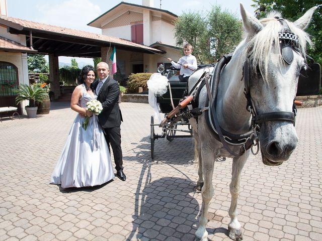 Il matrimonio di Giovanni e Paola a Corte Franca, Brescia 54