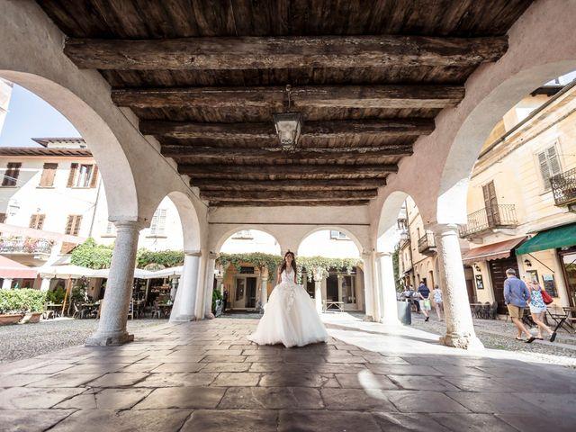 Il matrimonio di Davide e Isabella a Stresa, Verbania 2