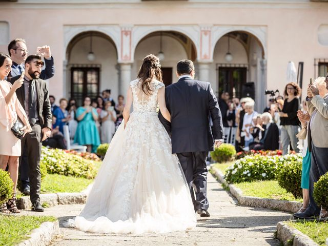 Il matrimonio di Davide e Isabella a Stresa, Verbania 12