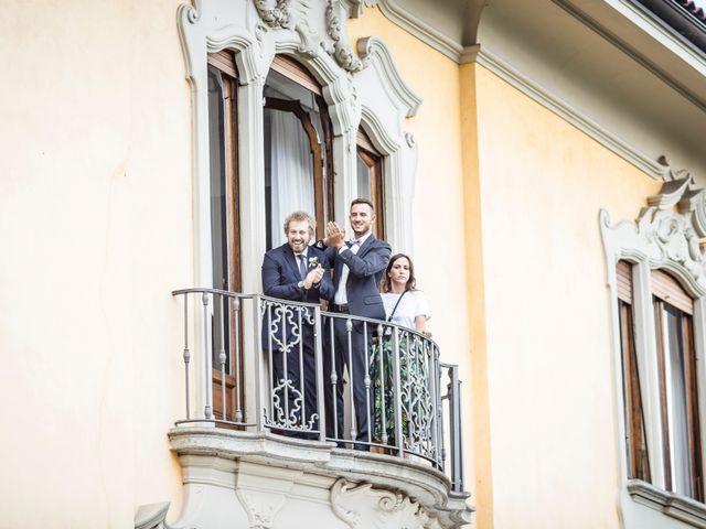 Il matrimonio di Davide e Isabella a Stresa, Verbania 24