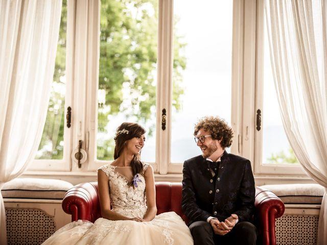 Il matrimonio di Davide e Isabella a Stresa, Verbania 35