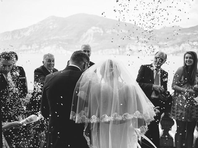 Il matrimonio di Manuel e Sara a Brenzone, Verona 167