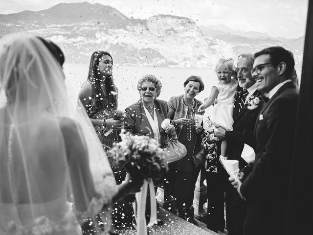 Il matrimonio di Manuel e Sara a Brenzone, Verona 192