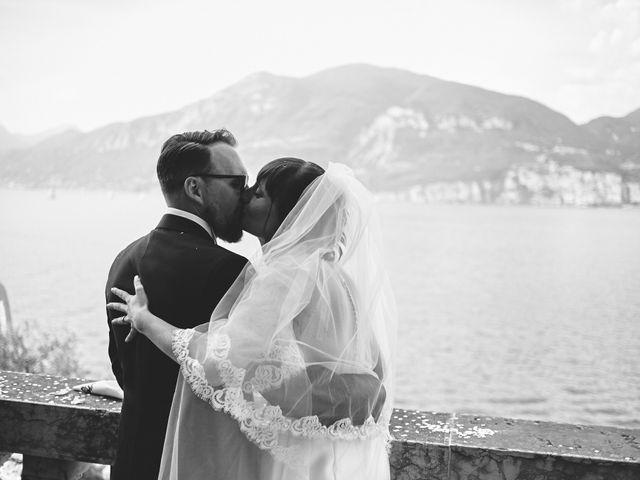 Il matrimonio di Manuel e Sara a Brenzone, Verona 178