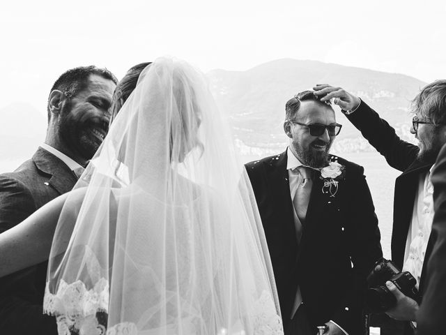 Il matrimonio di Manuel e Sara a Brenzone, Verona 40