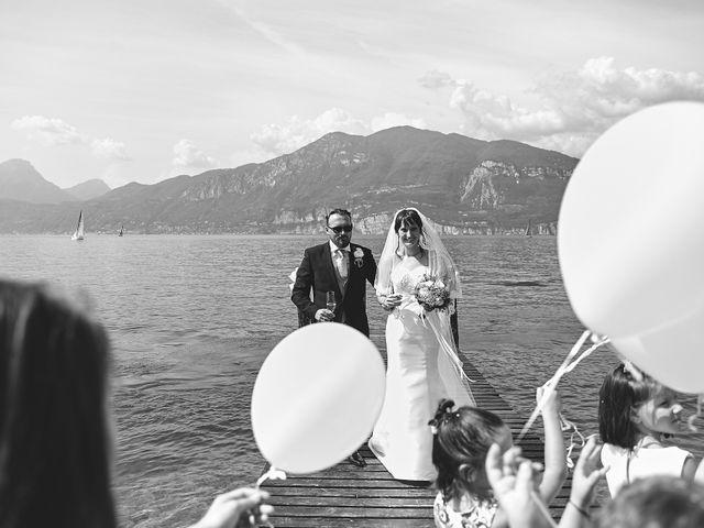 Il matrimonio di Manuel e Sara a Brenzone, Verona 43