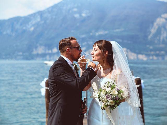 Il matrimonio di Manuel e Sara a Brenzone, Verona 17