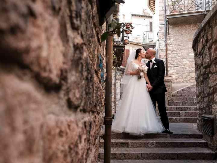 le nozze di Ekaterina e Pasquale