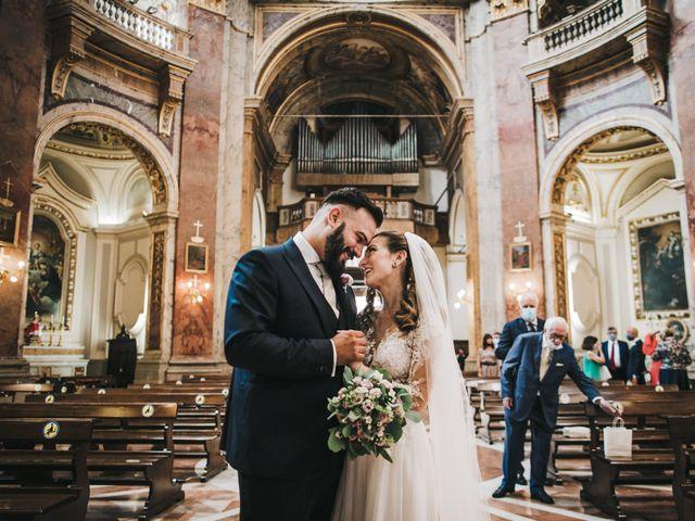Il matrimonio di Giorgio e Chiara a Roma, Roma 40