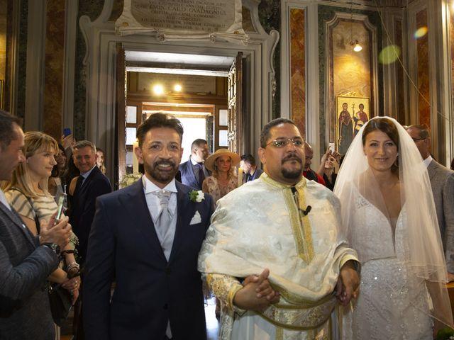 Il matrimonio di Andrea e Irina a Castel Gandolfo, Roma 14