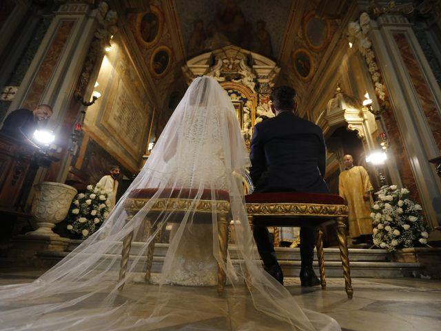 Il matrimonio di Andrea e Irina a Castel Gandolfo, Roma 25