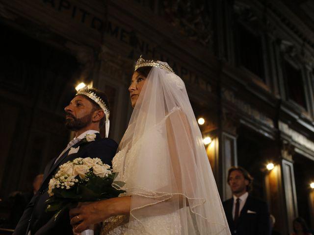 Il matrimonio di Andrea e Irina a Castel Gandolfo, Roma 32