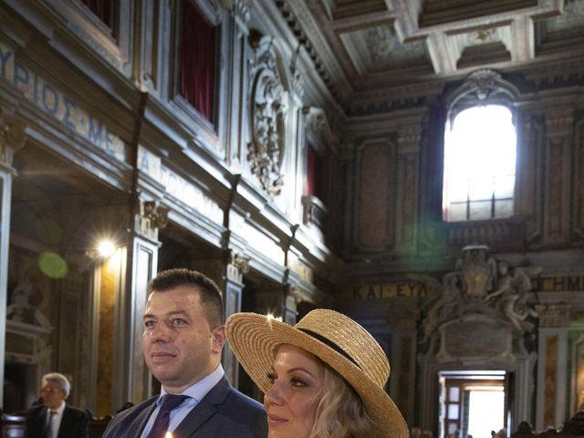 Il matrimonio di Andrea e Irina a Castel Gandolfo, Roma 35