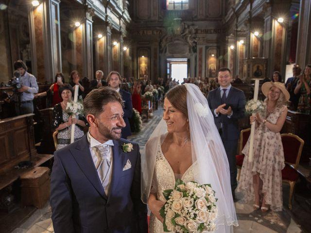 Il matrimonio di Andrea e Irina a Castel Gandolfo, Roma 39