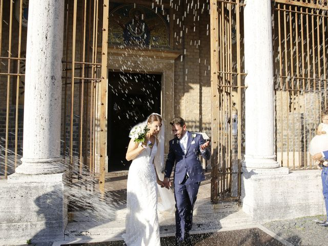 Il matrimonio di Andrea e Irina a Castel Gandolfo, Roma 41