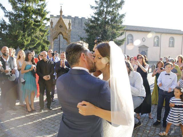 Il matrimonio di Andrea e Irina a Castel Gandolfo, Roma 42