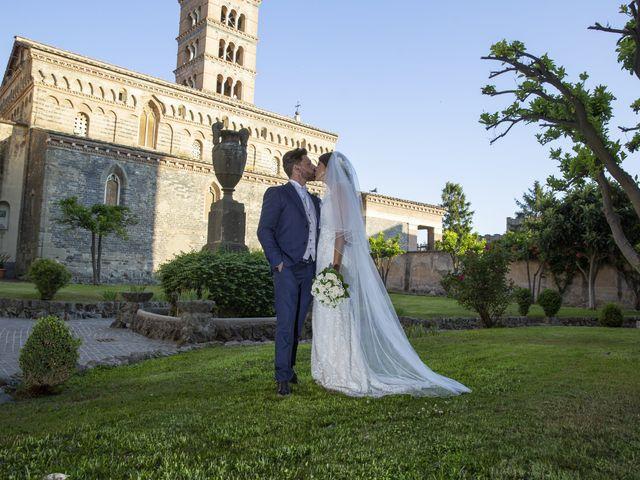 Il matrimonio di Andrea e Irina a Castel Gandolfo, Roma 43
