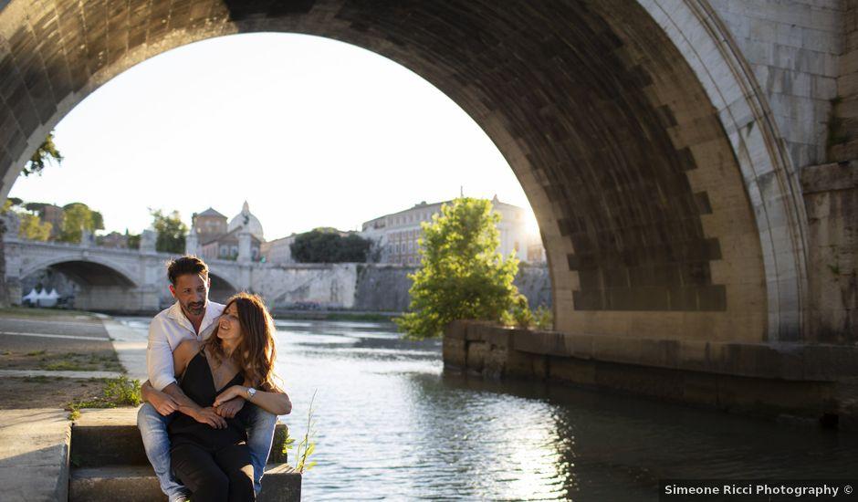 Il matrimonio di Andrea e Irina a Castel Gandolfo, Roma