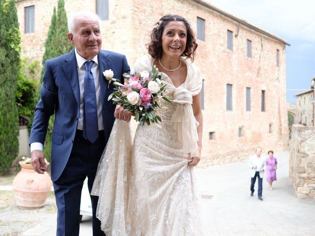 Il matrimonio di Stefano e Sandra a Cinigiano, Grosseto 9