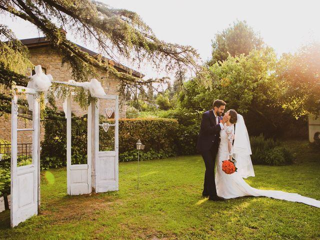 Il matrimonio di Daniele e Monica a Grumello del Monte, Bergamo 42