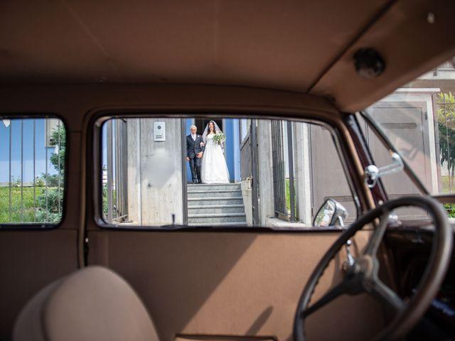 Il matrimonio di Giuliano e Giulia a Vigone, Torino 12