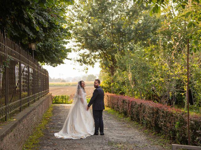 Il matrimonio di Giuliano e Giulia a Vigone, Torino 30
