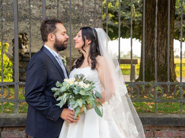 Il matrimonio di Giuliano e Giulia a Vigone, Torino 33
