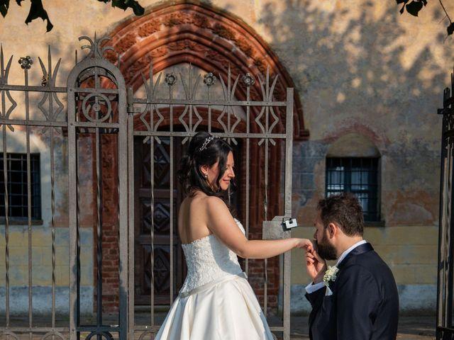 Il matrimonio di Giuliano e Giulia a Vigone, Torino 39