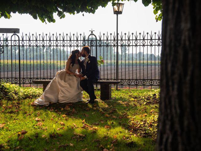 Il matrimonio di Giuliano e Giulia a Vigone, Torino 42