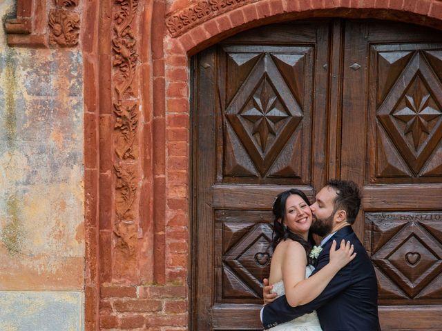 Il matrimonio di Giuliano e Giulia a Vigone, Torino 50