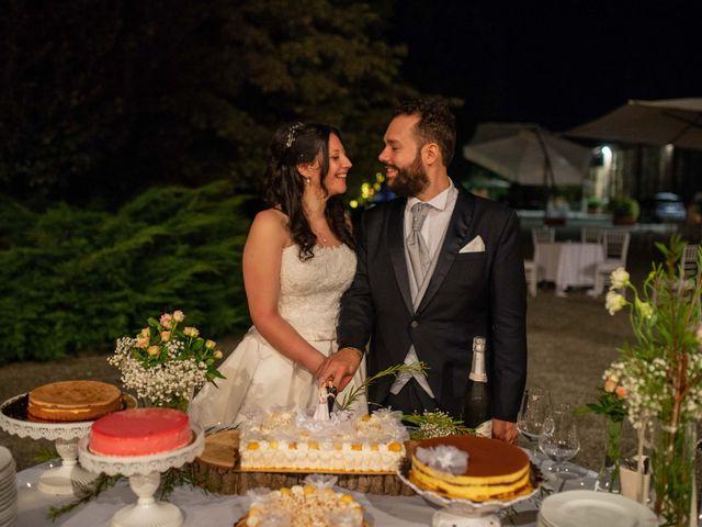 Il matrimonio di Giuliano e Giulia a Vigone, Torino 64
