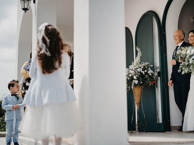 Il matrimonio di Pietro e Martina a Castro, Lecce 57