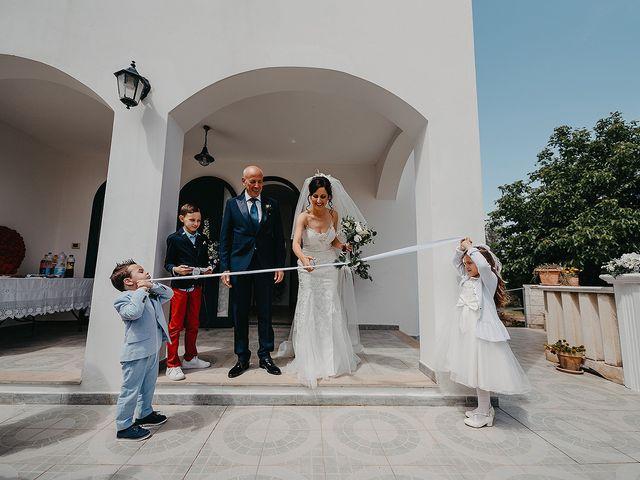 Il matrimonio di Pietro e Martina a Castro, Lecce 58